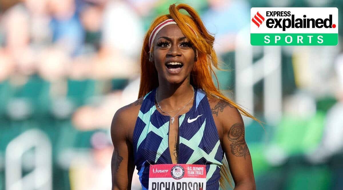 WADA cannabis ban, Biden cannabis ban, Sha'Carri Richardson, Sha'Carri Richardson marijuana test, Richardson dope test, Richardson marijuana, Richardson Tokyo Olympics, Indian Express