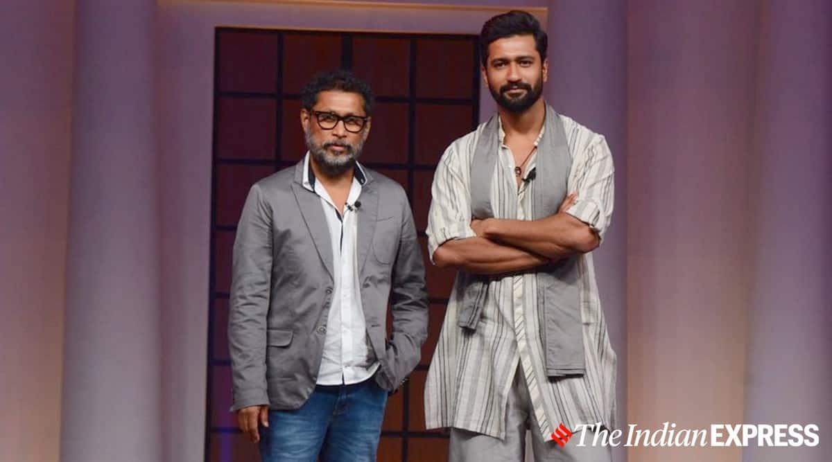 shoojit sircar with vicky kaushal sardar udham trailer launch