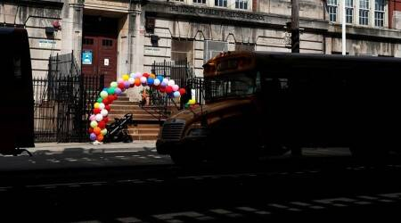 New York, New York schools, vaccine mandate, New York school, vaccine mandate, US court, world news, Indian express, Indian express news, current affairs