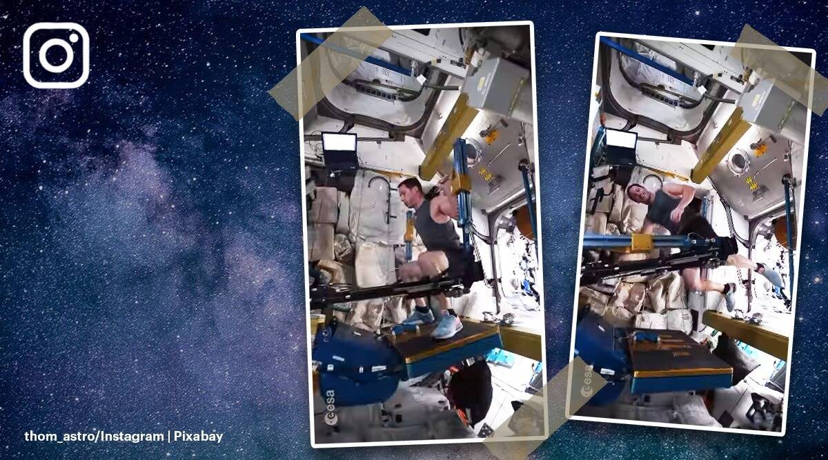 Thomas Pesquet, European Space Aircraft, Mission Proxima, International Space Station, Instagram, Twitter, International Space Station, indian express, indian express news