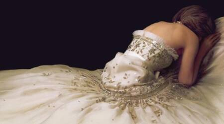 diana, spencer movie, chanel gown