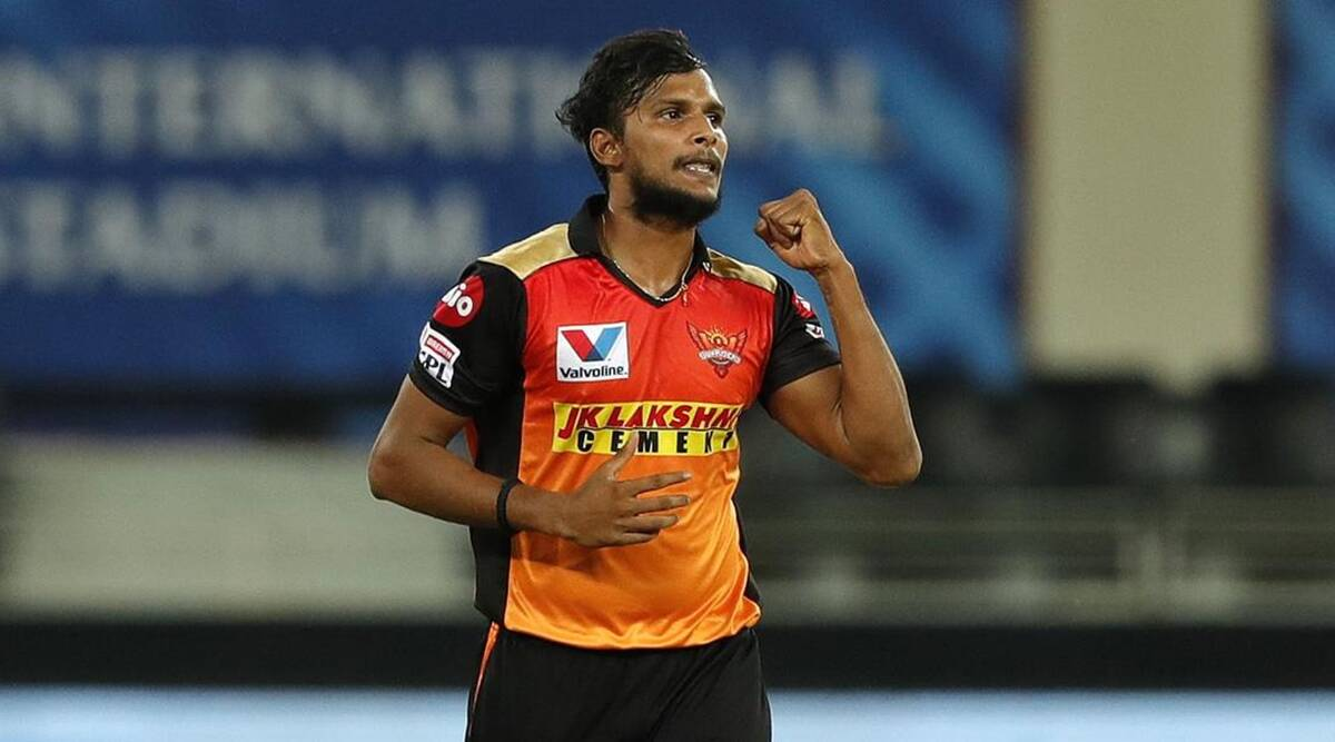 IPL 2021: T Natarajan tests positive for COVID-19 ahead of DC-SRH contest | Sports News,The Indian Express