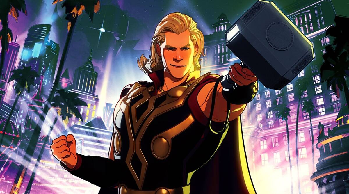 What If…? Episode 7: Captain Marvel vs Thor, Party Thor and other takeaways    Entertainment News,The Indian Express