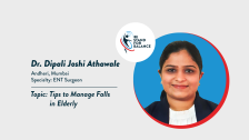 Dr Dipali Joshi Athawale – Tips to Manage falls in Elderly