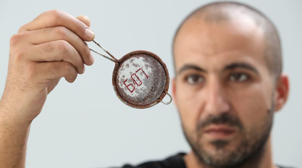 Palestinian artist, Palestinian artist Beirut blast