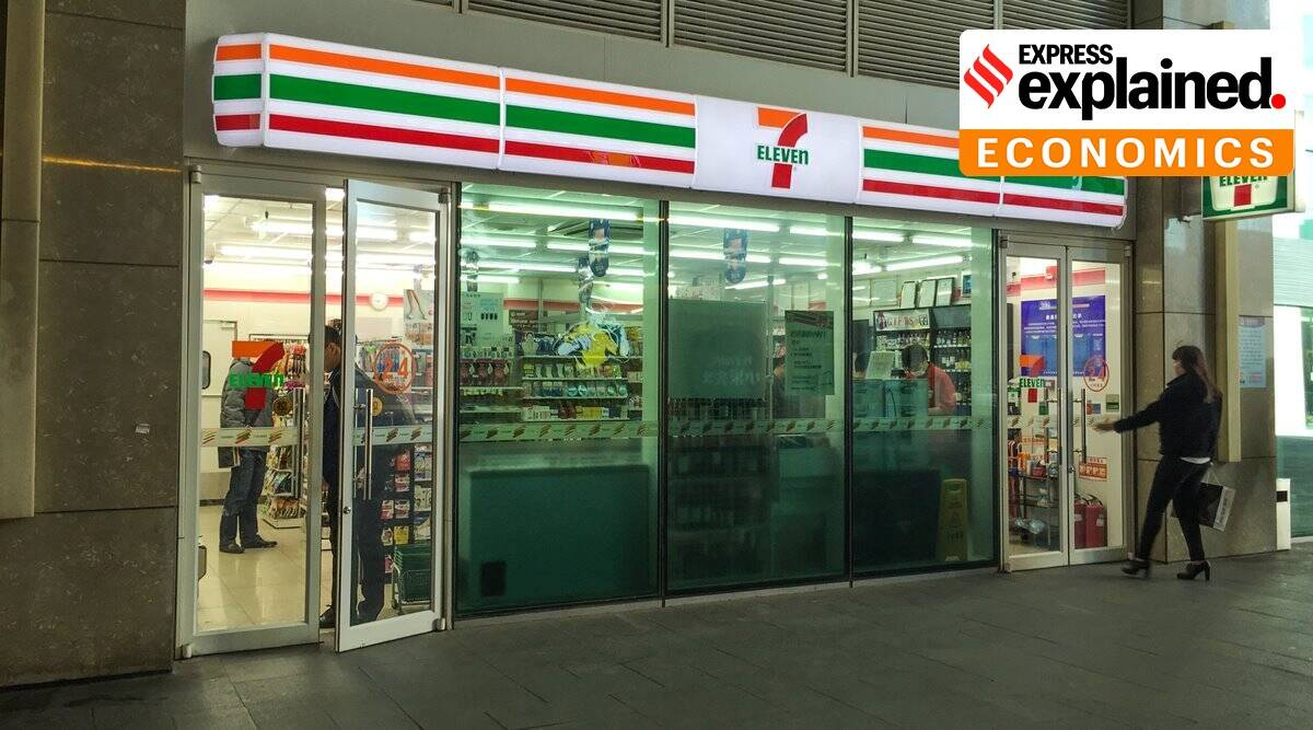 7-Eleven, 7-Eleven in India, 7-Eleven India stories, Reliance 7-Eleven stores, Indian Express