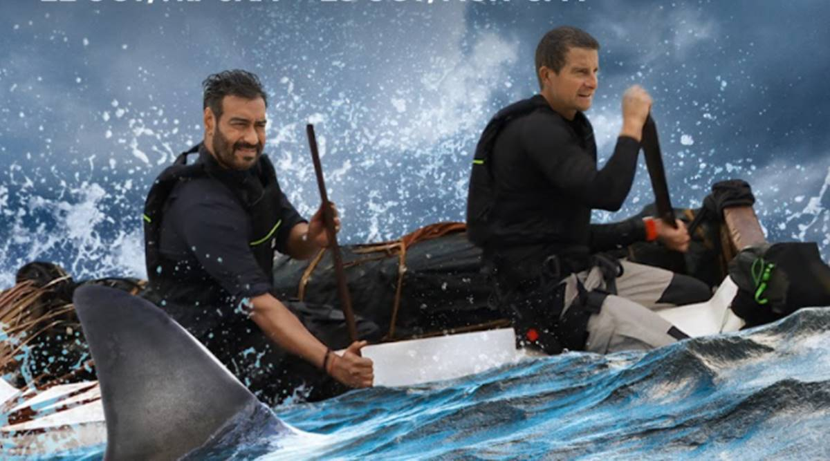Into The Wild with Bear Grylls and Ajay Devgn