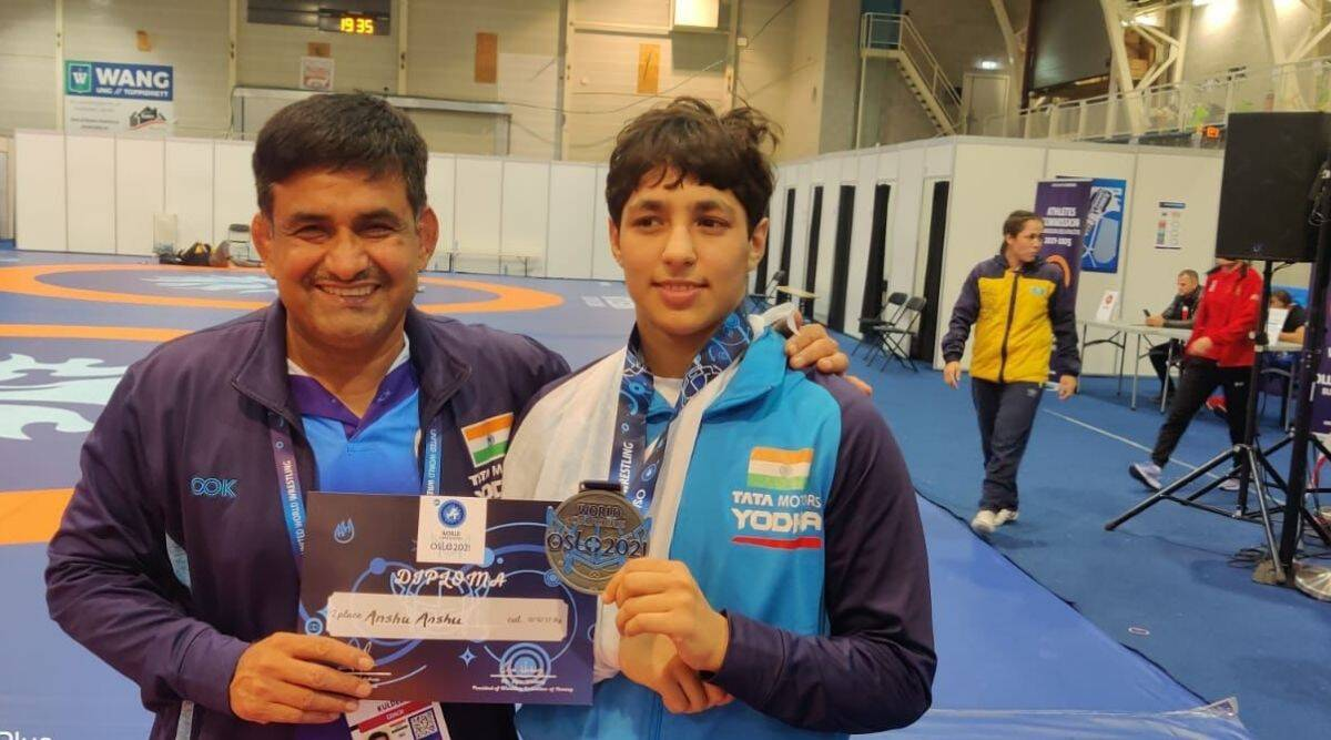 Silver, silver burning bright: Despite defeat to Helen Maroulis in the final, Anshu's feat is pathbreaking