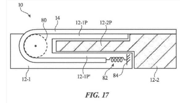 Apple patent, apple rollable screen, apple rolling screen, apple,