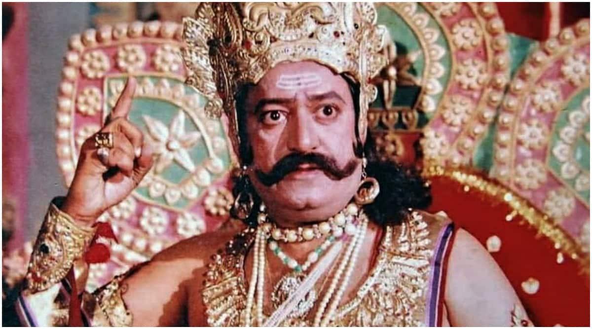 Arvind Trivedi- Ramayan- Raavan