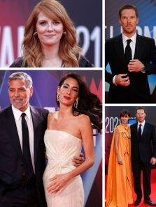 Best of red carpet moments at the London Film Festival