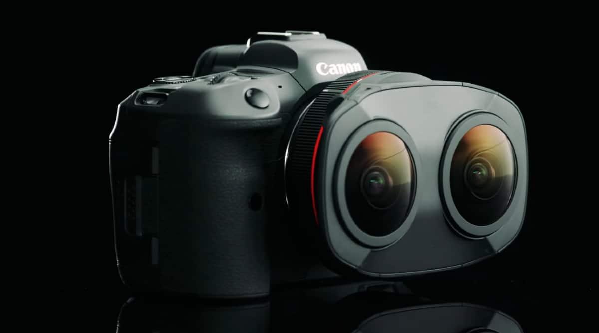 canon dual fisheye lens, canon, canon lens, canon vr lens,