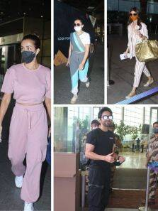 Celebrities who rocked airport fashion this week