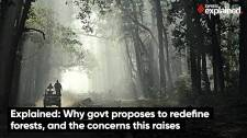 Why Govt Proposes to Redefine Forests, and the concerns this raises