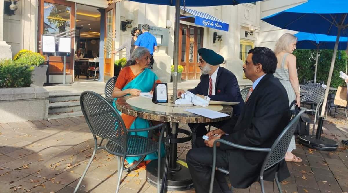 Gati Shakti, digitisation, 'Make in India' discussed as Sitharaman meets top CEOs in US