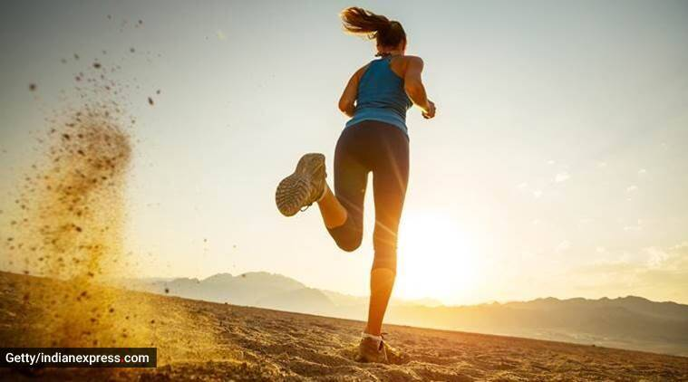 weight loss, how to lose weight, weight loss exercises, simple weight loss exercises, running, jumping rope, fitness, indian express news