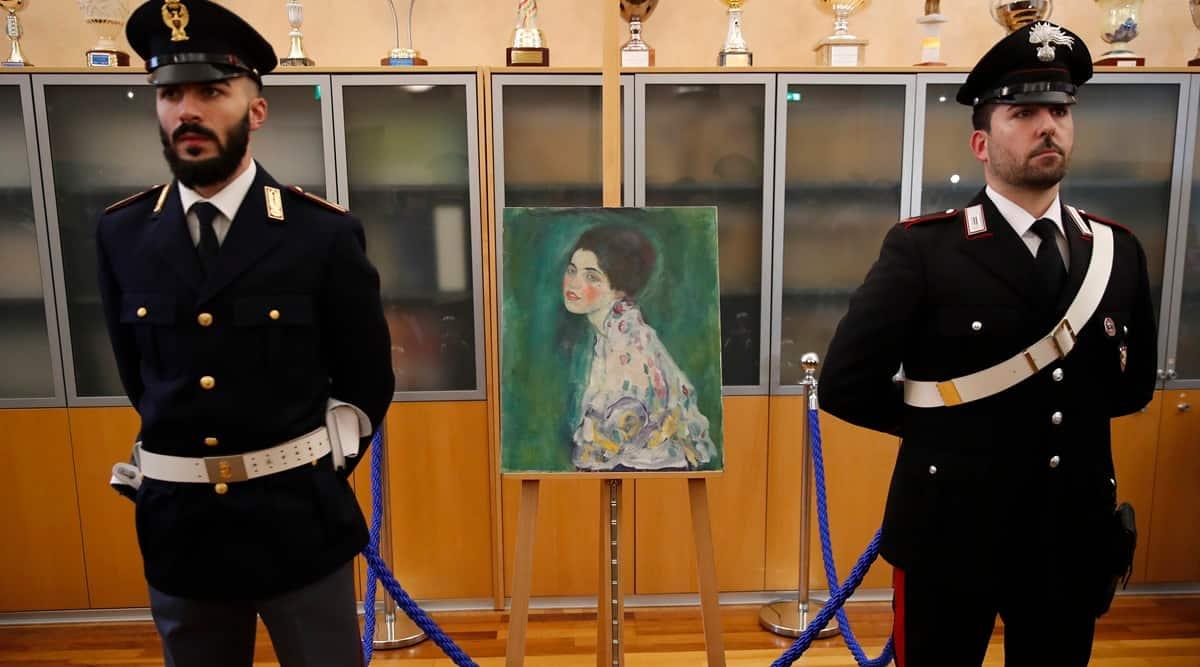 Gustav Klimt, Gustav Klimt artworks, Gustav Klimt Portrait of a Lady