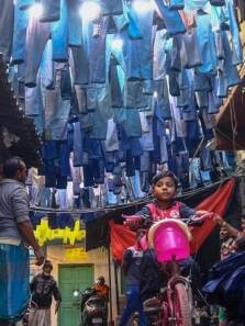 Laundry Alley: The street in Kolkata where old jeans become new