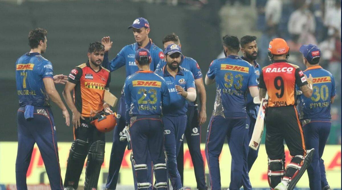 MI go for broke but sink: Post 235/9 against SRH but fall well short of margin of victory needed to advance