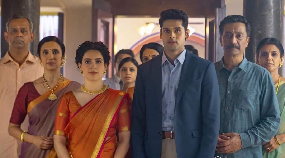 sanya malhotra, abhimanyu dassani,