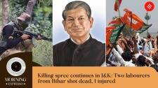 Indian Express Today Oct 18: Two Shot Dead in J&K, Eye on Caste Votes in UP Polls, and more