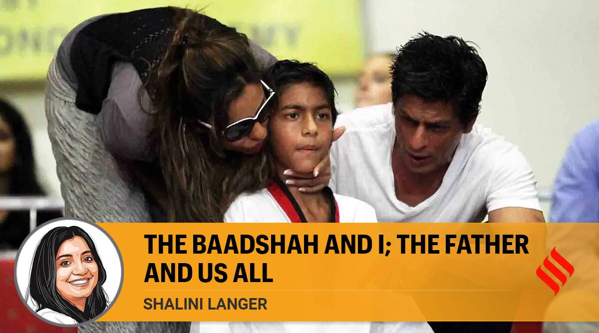 The Baadshah and I; the father and us all