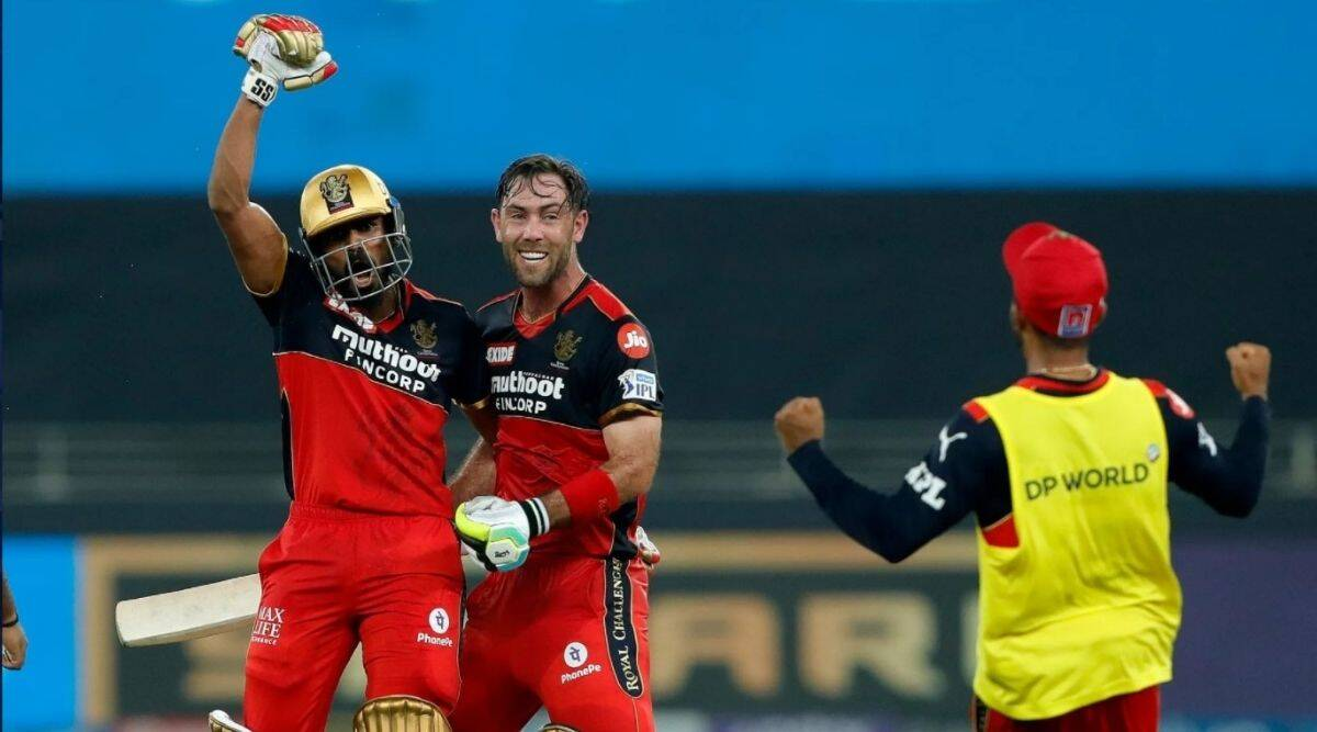 Sharjah in Dubai: Last-ball maximum takes RCB home against Capitals, who are punished for lacklustre fielding