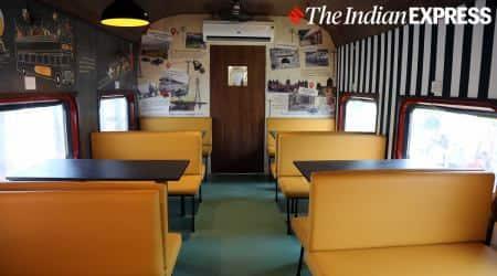 restaurant on wheels, railway restaurant, Chhatrapati Shivaji Maharaj Terminus restaurant, Mumbai train restaurant, CSMT train restaurant, Mumbai Railways restaurant, indianexpressonline