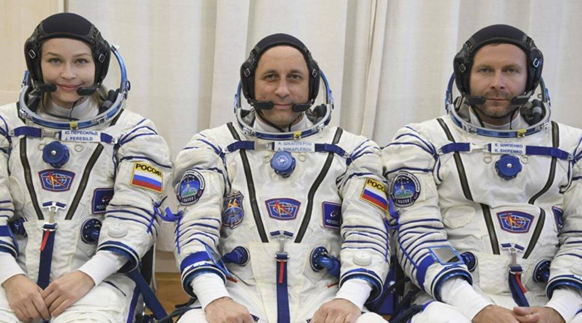 Russia film Challenge in space