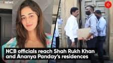 NCB officials reach Shah Rukh Khan and Ananya Panday's residences
