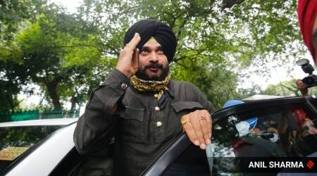 Amid storm in Cong, Punjab, an oasis of calm inside Sidhu's residence
