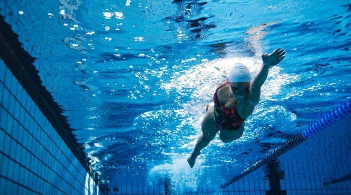 Records tumble on day 1 of junior national aquatic championships