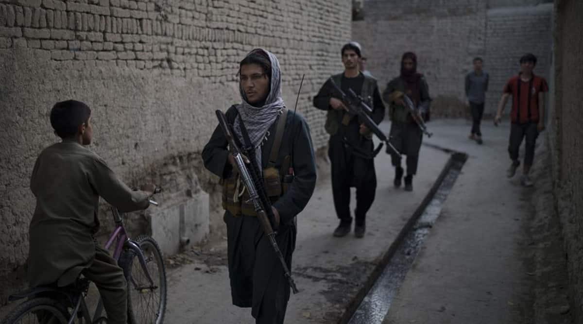 Afghanistan, Taliban, Taliban Fighters, Taliban Punishment, Taliban security, Afghans, Kabul, Afghan Taliban, Indian Express, Indian Express news, World news