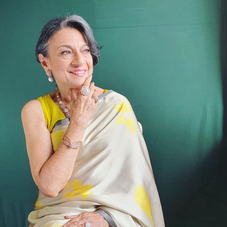 Navratri colours 2021, Tanuja Mukherjee