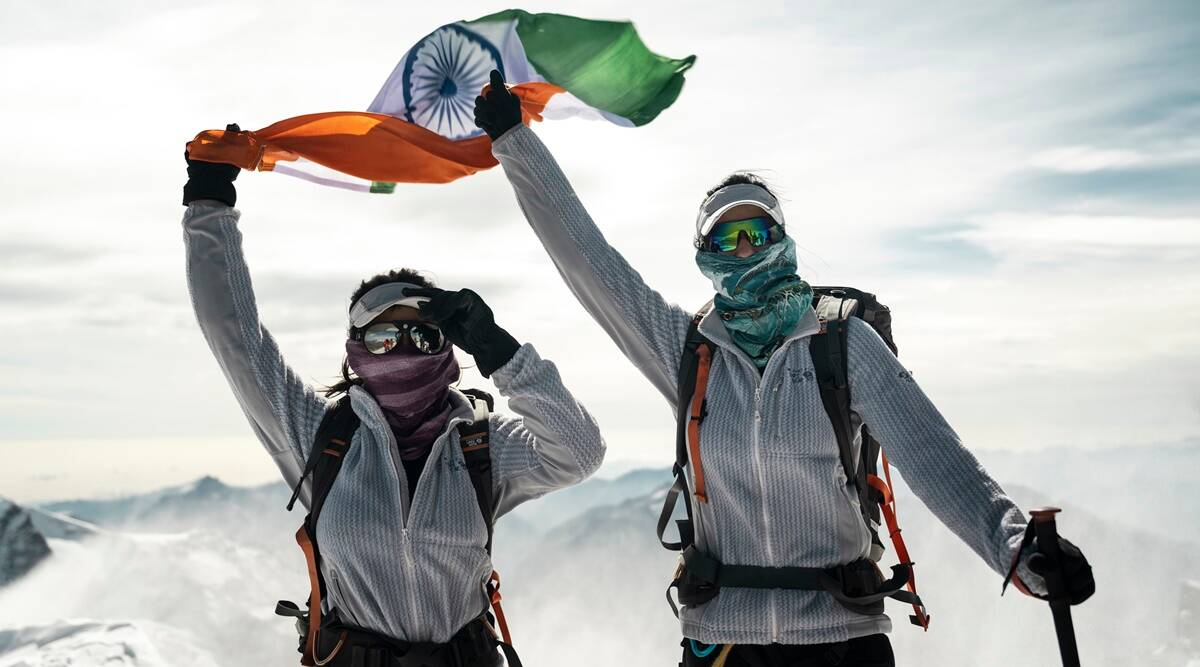 Mountaineers Tashi-Nungshi get itchy feet to end lockdown by scaling the Alps