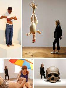 The hyperrealist visions of sculptor Ron Mueck; see pictures