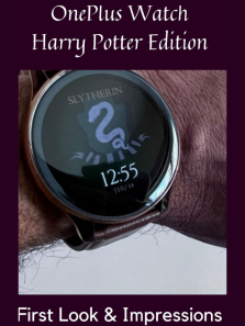 OnePlus Watch Harry Potter Edition: First look