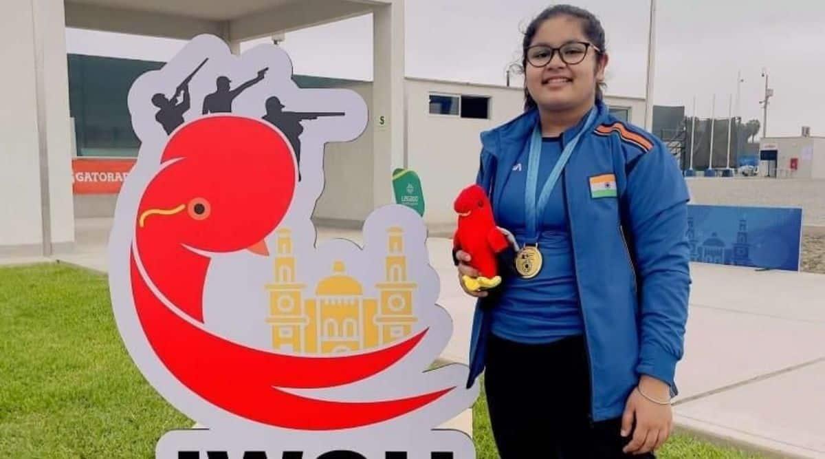Shooting star: Delhi girl Naamya Kapoor, 14, becomes junior world champ