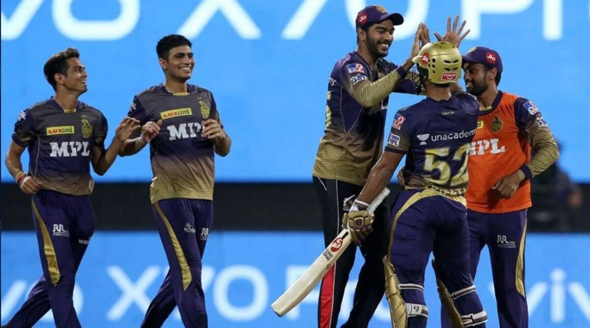 KKR's Tripathi seals it with a six in Sharjah