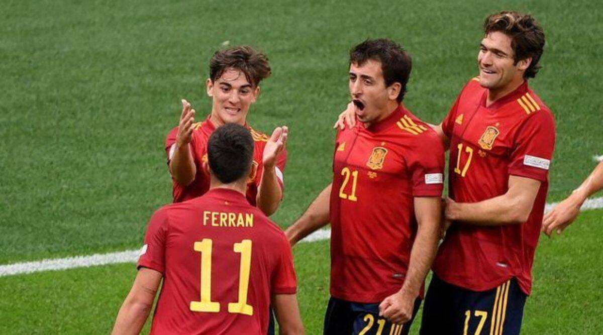 Italy vs Spain, nations Cup