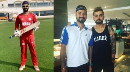 Jatinder Singh cricketer, Oman cricketer Jatinder Singh