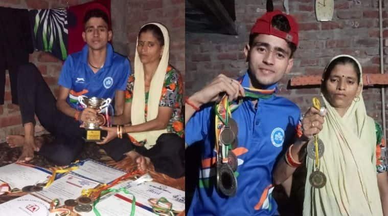 The runner Lokesh Kumar