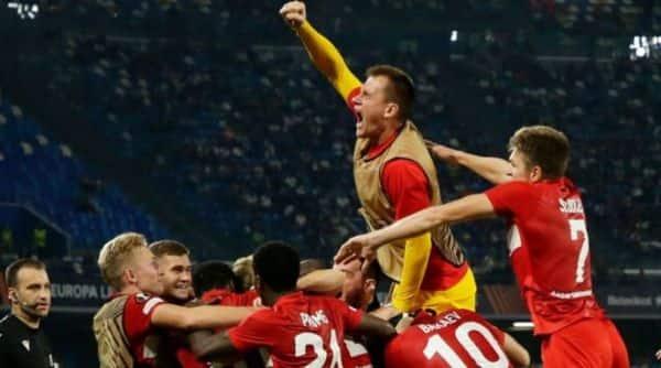 Napoli v Spartak,