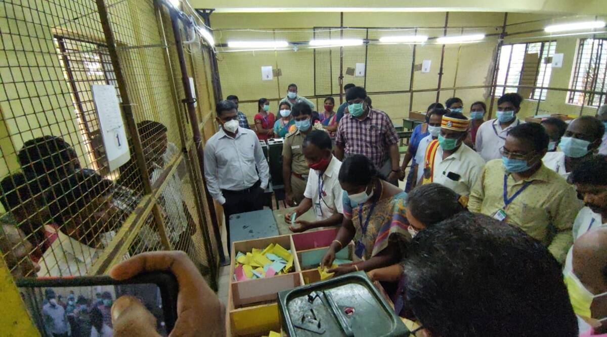 Tamil Nadu rural local body polls: Counting of votes underway in 74 centres    Cities News,The Indian Express