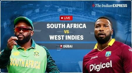 West Indies vs South Africa live score, T20 World Cup 2021 WI vs SA LIVE Score