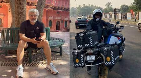 ajith bike trip