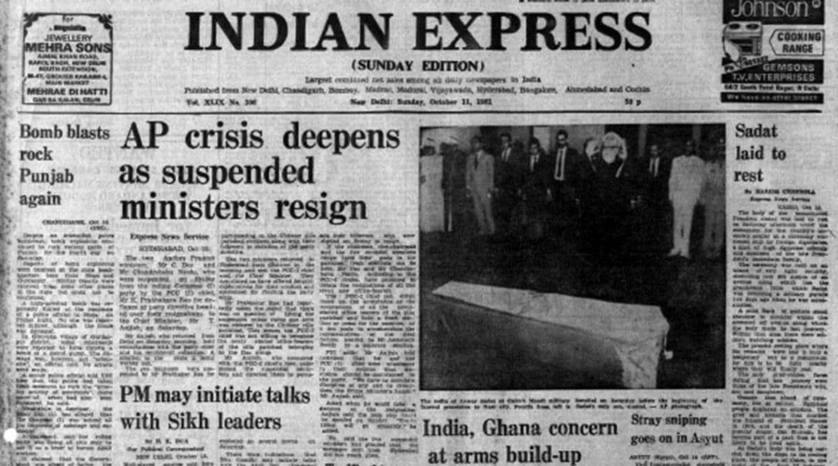 Andhra Pradesh, Punjab, Anwar Sadat, Chandrababu Naidu, K Prabhakar Rao, Indian express, Indian express news, India news