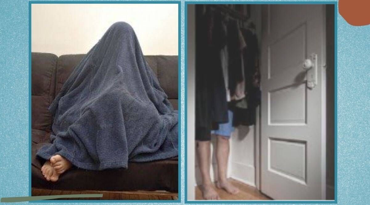 Swadlincote Police SNT thief hides under blanket viral story, Police find wanted man hiding under a blanket, Derbyshire Police, trending, indian express, indian express news