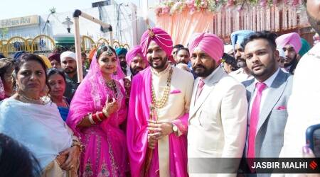 Punjab CM Channi's son gets married in low-key ceremony