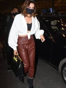 Deepika Padukone and her leather pants herald return of the 'airport look'